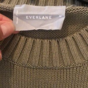 Everlane Sweaters - Everlane Soft Cotton Square Crew Sweater